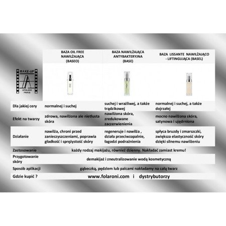 Baza nawilżająca-antybakteryjna - Base Hydratante 30 ml